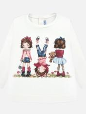 2010-Camiseta Mayoral estampada baby niña